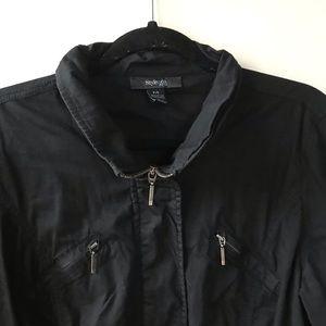 Style & Co Jackets & Coats - Black utility jacket